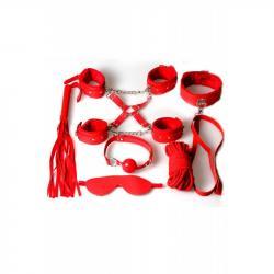 Kit de bondage rouge